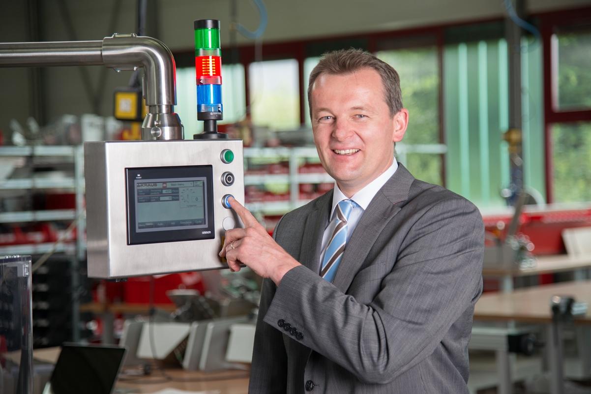 Joachim Kraus, Geschäftsführer der Kraus Maschinenbau GmbH