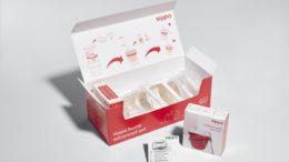 Faller Packaging hat die Verpackung für die Trinkhilfe Sippa von iuvas produziert