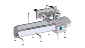 3-D-Bild einer Flowpackmaschine im Hygienic Design