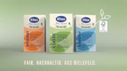 Aus Liebe zur Umwelt - Ritex PRO NATURE Kondome.