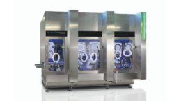 Robotische Mikrodosieranlage MicroRobot 50 zur Dosierung von Pulvern