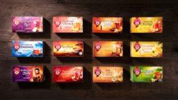Teekanne Ländertees Packaging Design von WIN