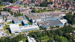 Der Unternehmenssitz der Uhlmann Group