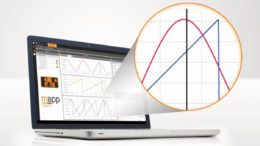 Aufgeklapptes Laptop mit einem Bildschirmbild zur Maschinenanalyse symbolisiert mapp Cockpit
