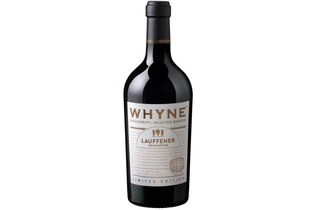 Weinflasche von der Lauffener Weingärtner eG