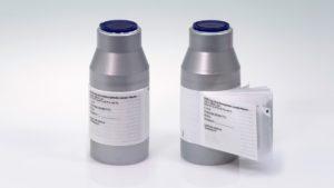 Verblindung von Vials mit Flexi-Cap und Booklet-Label