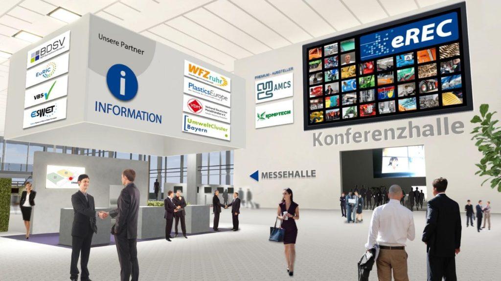 Virtuelle Lobby der eREC