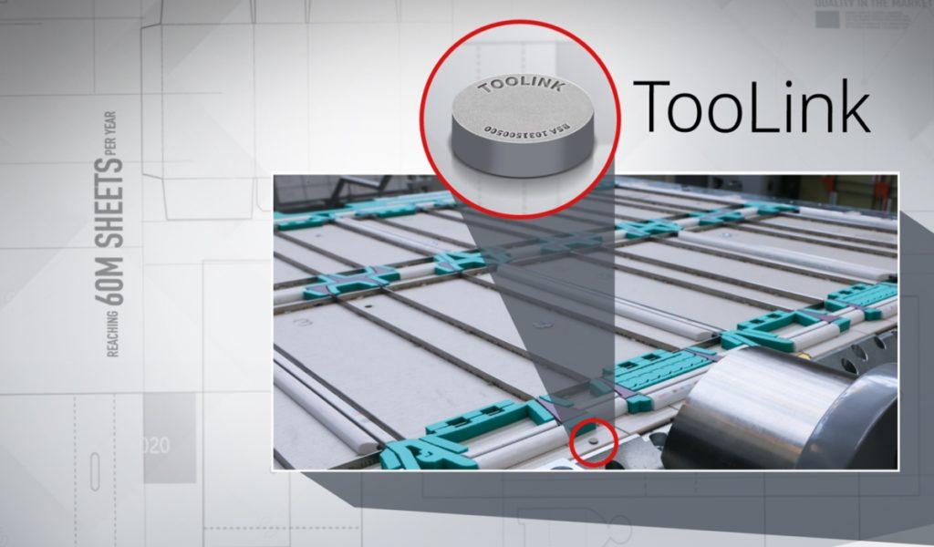 Grafik mit vergößerten Auschnitt aus einem Maschinenfoto