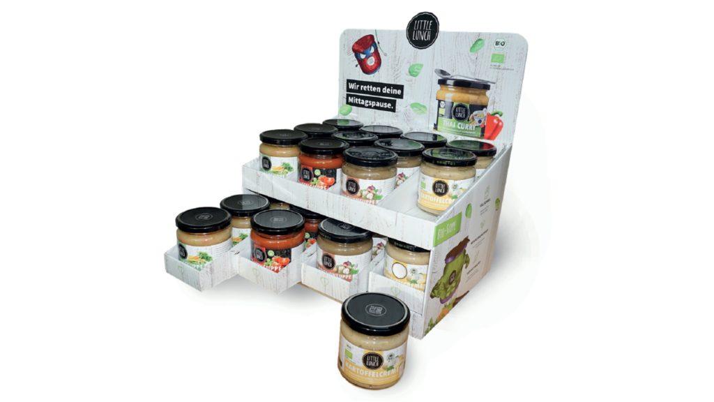 Schubladen-Theke für Suppe im Glas (KOLB Group, Gebr. Knauer GmbH & Co.KG)