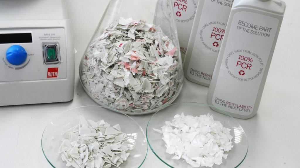Wash-Off Etiketten (HERMA GmbH)