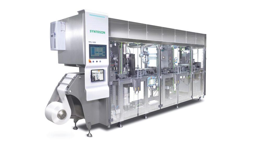 Papierformmaschine TPU1000 (Syntegon)