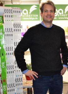Philipp Grimm Geschäftsführer und Inhaber von Felga Etiketten