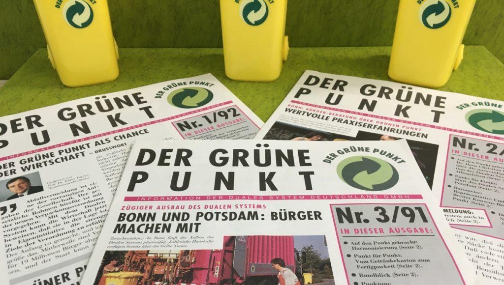 """Drei Zeitschriften von """"Der Grüne Punkt"""""""