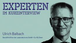 Ulrich Balbach, Leuze