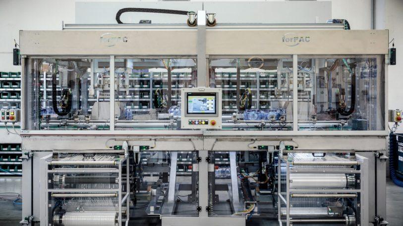 Einzelne Module der Verpackungsmaschine Styron von Forpac