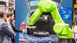 roboter auf der automatica