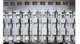 Detail des Dosenfüllers Innofill Can DVD von KHS Fülltechnologie