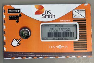 Verpackung mit Tracker von DS Smith