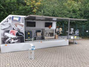 Roadshow Truck für mobiler Messestand