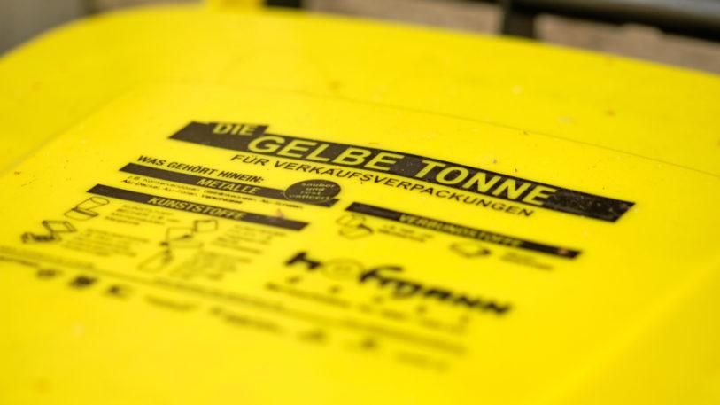 Altplastik aus dem Gelben Sack oder der Gelben Tonne