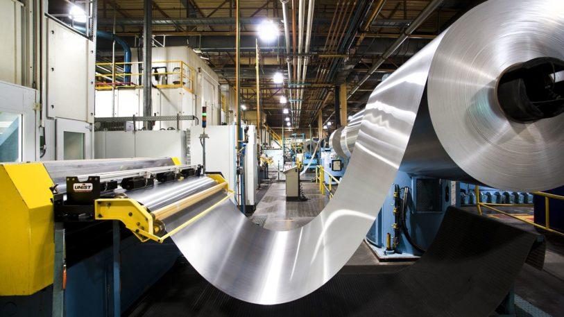 Aluminium für Getränkedosen auf der Rolle