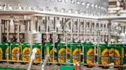 Dosenabfüllung mit KHS Innofill Can DVD bei der Brauerei Radegast
