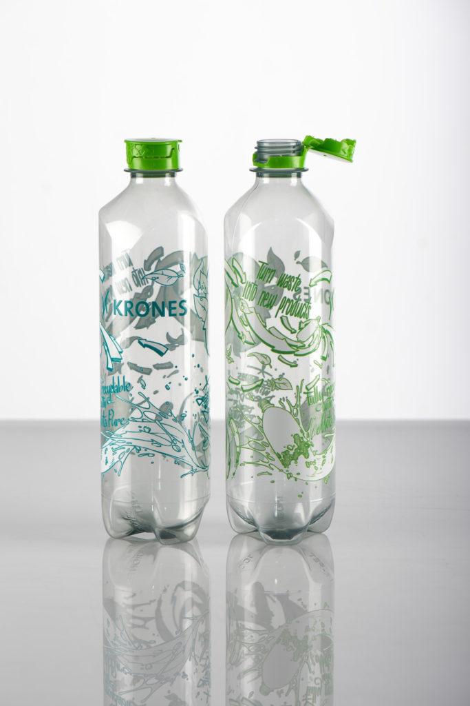 Getränkeverpackung 3Circles Bottle von Krones