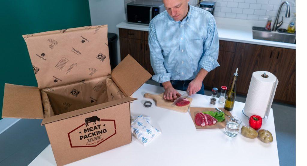 Temperaturisolierter Karton für empfindliche Produkte