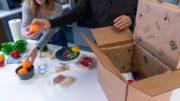 Karton mit Isolierung aus pflanzlichem Material ClimateCell von TemperPack