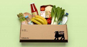 Direct Box aus Karton für den Lebensmittel Onlinehandel von DS Smith