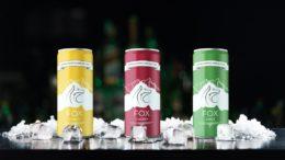 drei Getränkedosen mit Hard Seltzer von Fox Getränkeverpackung