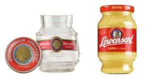 Loewensenf Glas Tönnchen