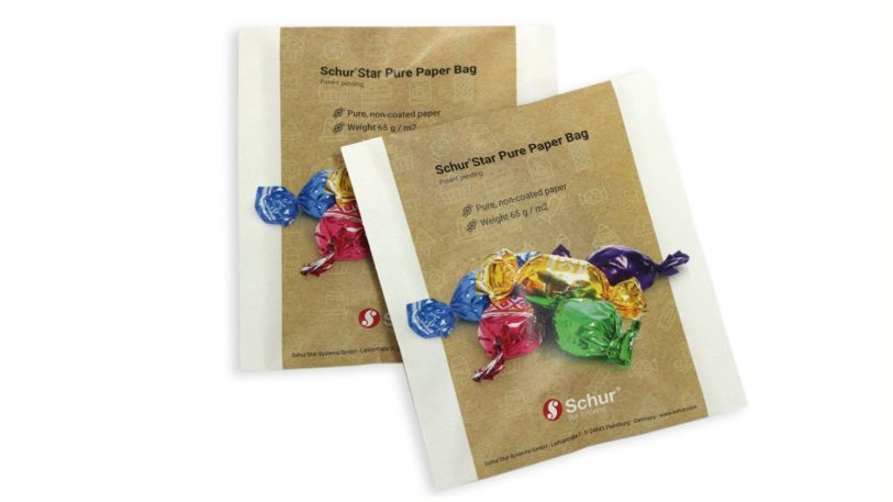 zwei Papierbeutel Schur Star Pure Paper Bag
