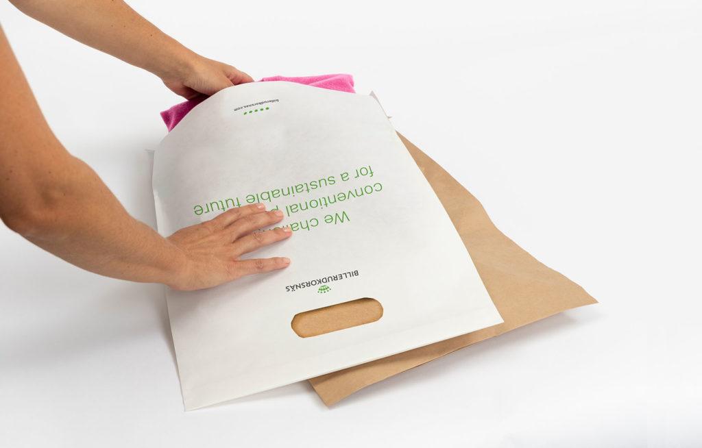 Umweltfreundliche Versandtasche von BillerudKorsnäs