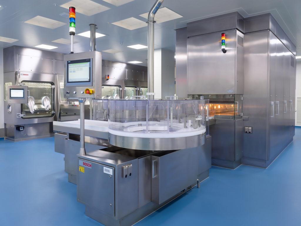 Pharma Syntegon BN 2 Isolator-Anlage