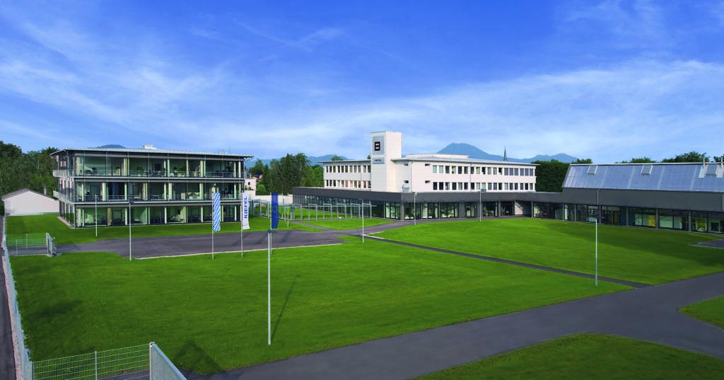 Der moderne Campus von Kiefel