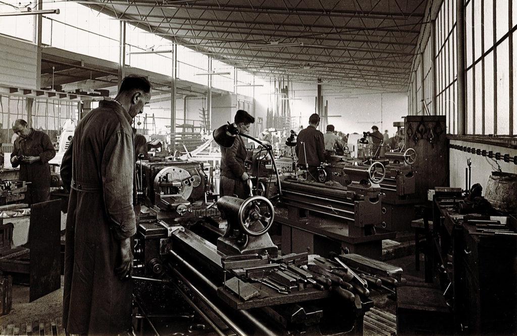 Kieferl Fertigung in den 1950er Jahren