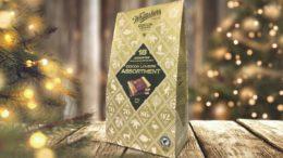 Veredelter Papierbeutel für Schokoladentafeln