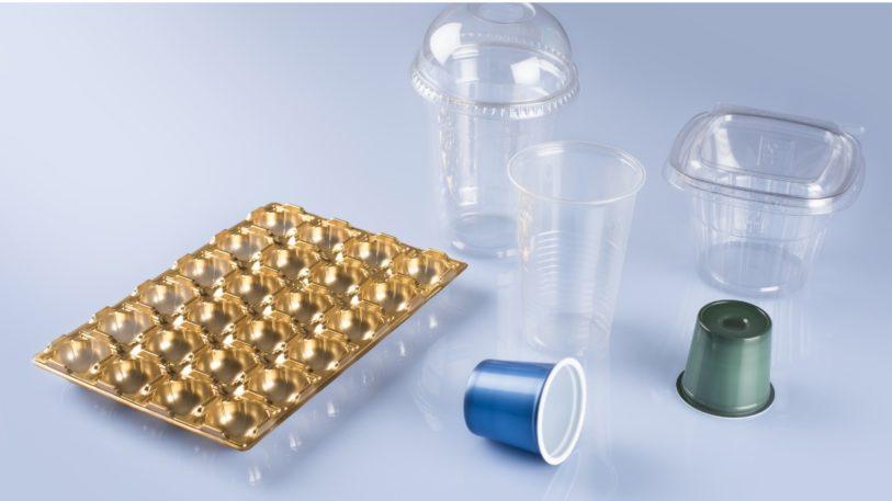 Verschiedene thermogeformte Verpackungen von Kiefel