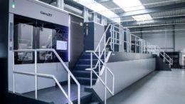Digitaldruckmaschine CorruJET 170 bei Kolb