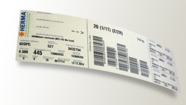 Nachhaltige Versandetiketten: die neuen EPSMA-Labels aus Recyclingpapier
