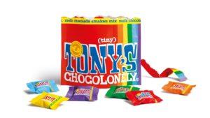 Sekundärverpackung auf Papierbasis der Tiny Tony's