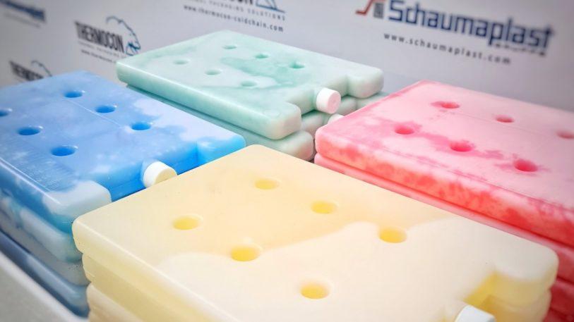 PCM-Akkus von Schaumaplast für Kühlung von Corona-Impfstoffe