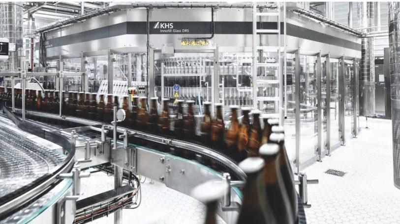 KHS Abfülltechnologie für Flaschen Innofill