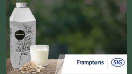 Hafermilch von Frampton in Combidome von SIG