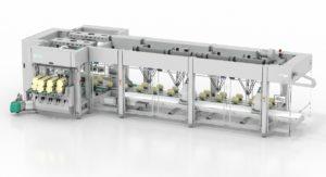 Kartonierer Sigpack TTMD mit integrierten Delta Robotern