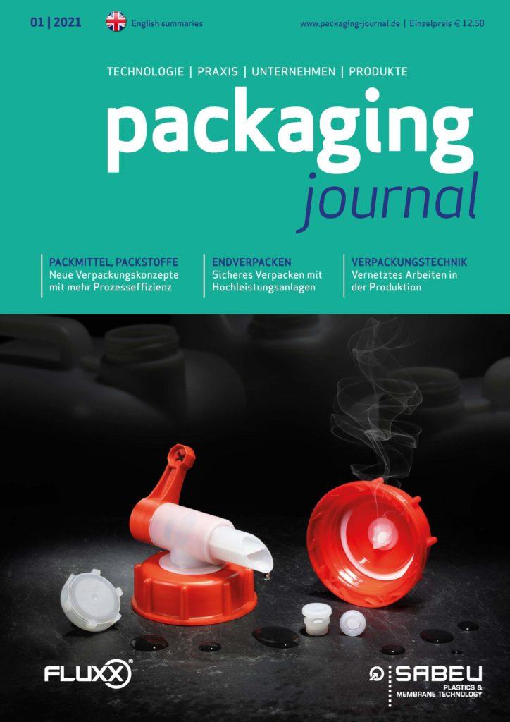 Titelbild packaging journal Februarausgabe 2021