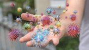Beschichtung Lock 3 wirkt gegen Viren und Bakterien