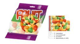Beispiel für eine Migration durch das Trägermaterial. Farbsysteme für den Verpackungsdruck