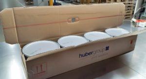Neue Kartonboxen der hubergroup